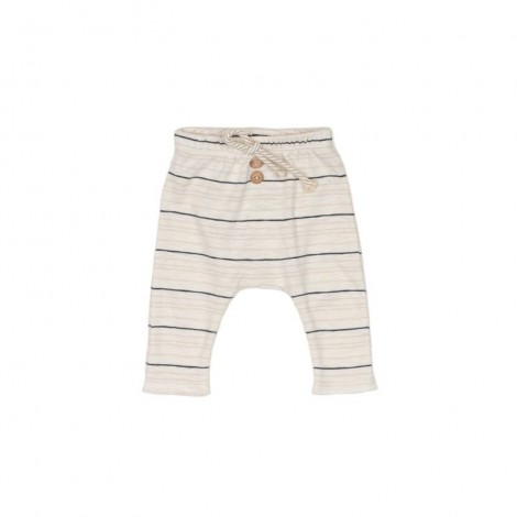 Pantalones MORGAN STRIPE bebé en NATURAL