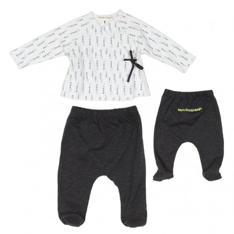 Conjunto newborn WAVE ARROWS bebé en MINERAL