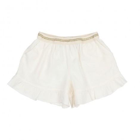 Pantalón corto niña PAULINE en TALC