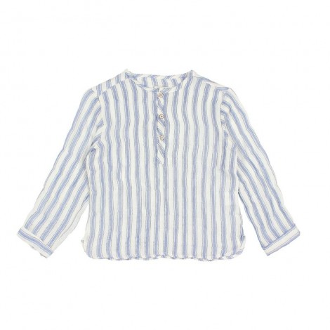 Camisa niño PAUL raya playera en INDIGO