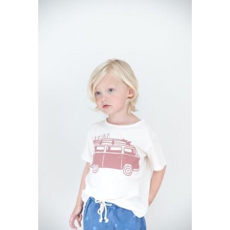 """Camiseta infantil LEO """"EVASION"""" en TALC"""