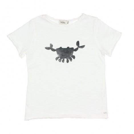 "Camiseta infantil CESAR ""CRAB"" en WHITE"