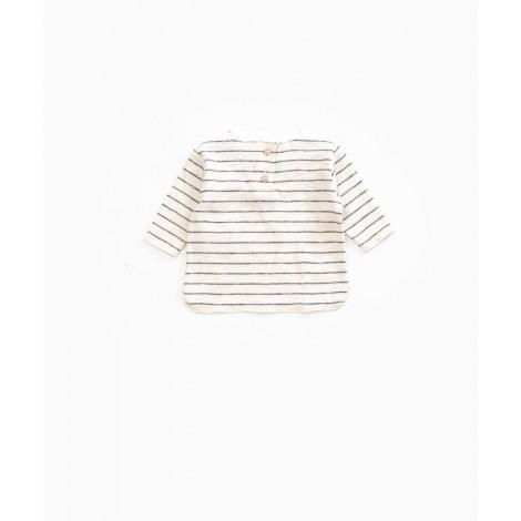 Camiseta bebé Manga Larga Rayas en WARP