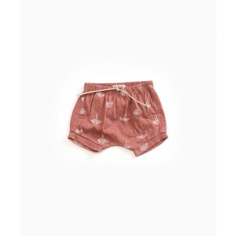 Pantalón corto bebé palmeras en OLD TILE