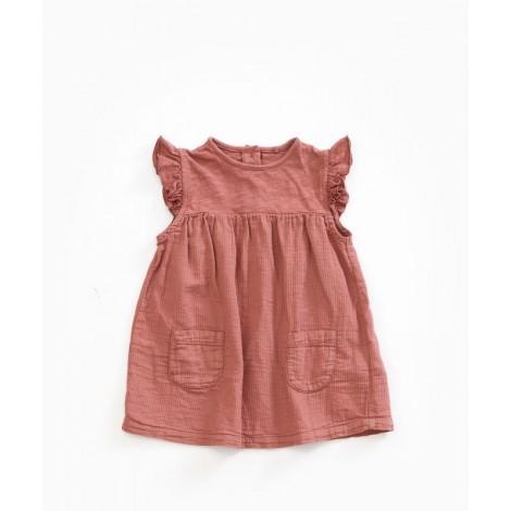 Vestido bebé bolsillos en OLD TILE