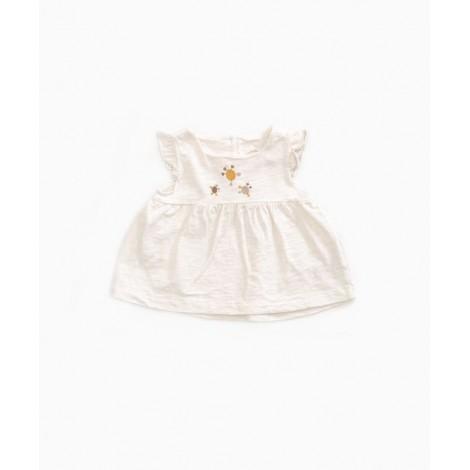 Camiseta bebé top ancho en PEARL