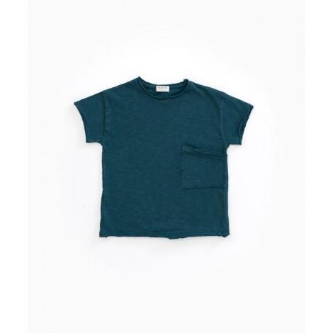 Camiseta niño bolsillo M/C en DEEP