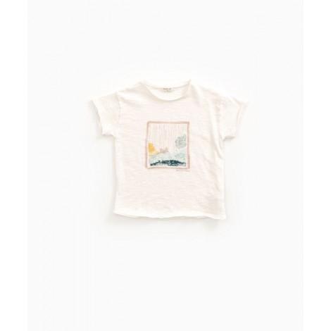 Camiseta infantil pintura en PEARL