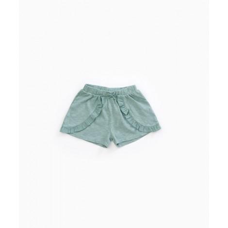 Pantalón shorts niña volantes en BOTTLE