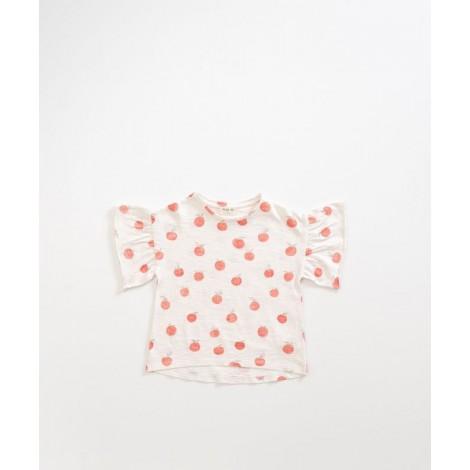 Camiseta niña albaricoques  en PEARL