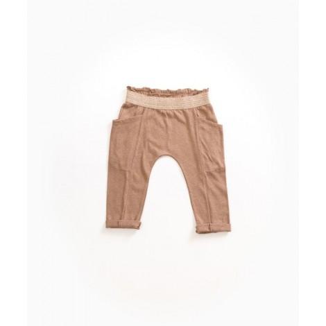 Pantalón corto niña bolsillos en HEMP