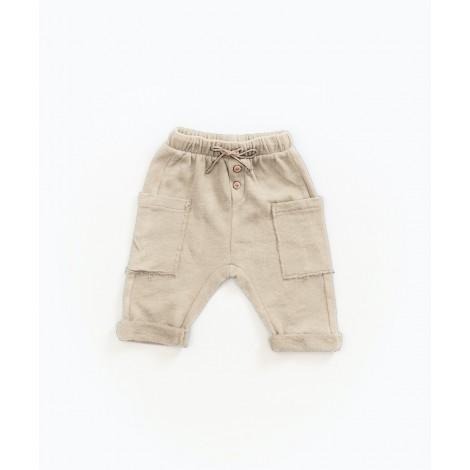 Pantalón largo bebé verano en JUTE