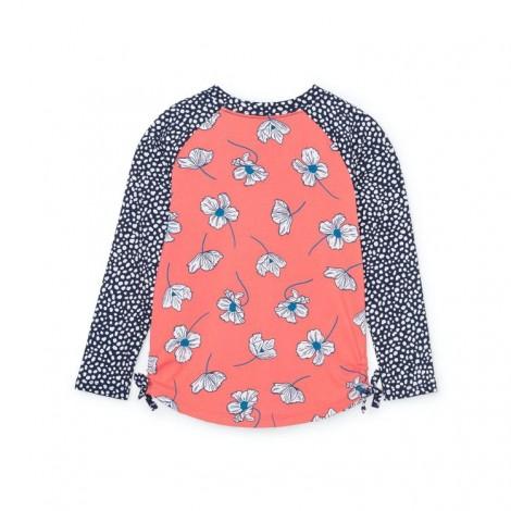 Camiseta lycra niña protección UV DELICATE FLOWERS