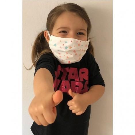Mascarilla protección infantil higiénica