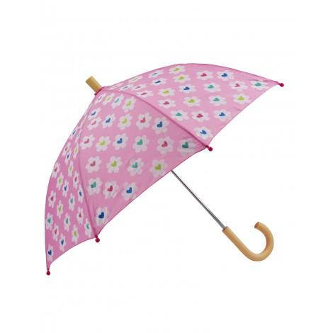 Paraguas infantil Flower Heart Garden