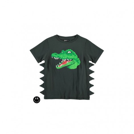 Camiseta infantil 3D COCODRILO M/C