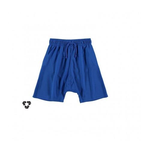Pantalón técnico corto infantil RECICLADO azul