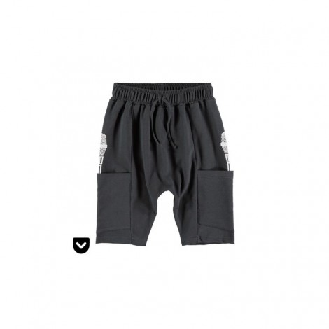 Pantalón corto infantil bolsillo con micro