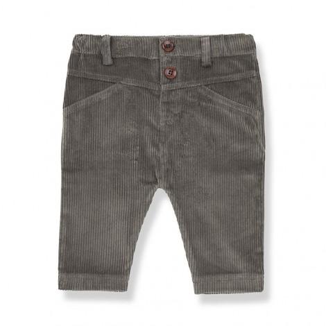 Pantalón botones ANGLES de bebé en TIERRA