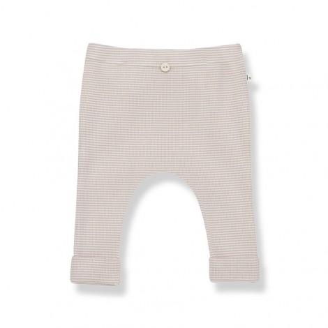 Pantalón leggins FILIPPA de bebé en NUDE