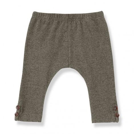 Pantalón leggings FORMIGAL de bebé en TIERRA