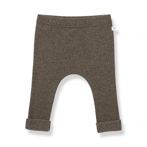 Pantalón leggings HARRIS de bebé en TIERRA