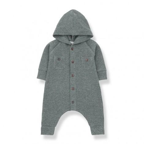 Pelele con capucha MARMOLADA de bebé en PINO