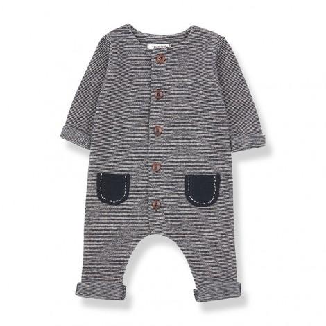 Pelele bolsillos MONTBLANC de bebé en MARINO