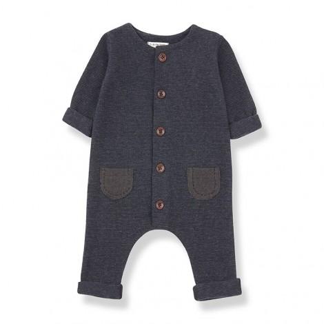 Pelele bolsillos MONTBLANC de bebé en TIERRA-MARINO