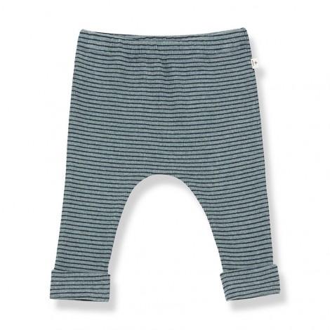 Pantalón leggings NUNAVUT de bebé en SALVIA-MARINO