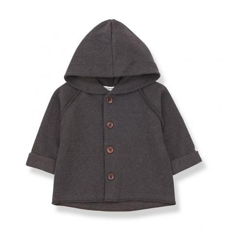 Chaqueta con capucha SAU de bebé en TIERRA