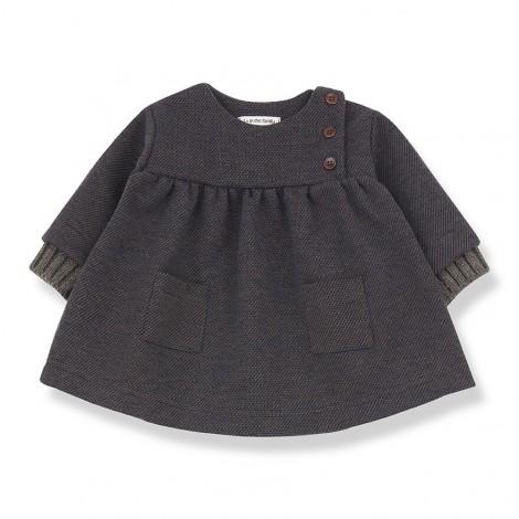 Vestido elegante WAILUA de bebé en TIERRA-MARINO