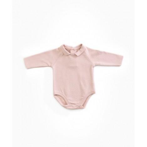 Body bebé manga larga Rib  en BEECH
