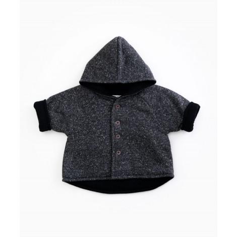 Abrigo bebé de punto capucha en RASP