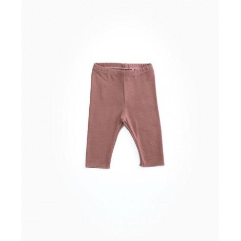 Pantalón legging bebé suave en PURPLEWOOD