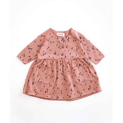 Vestido bebé hojas  en JATOBÁ