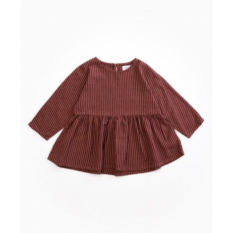 Camisa blusa niña a rayas en TAKULA
