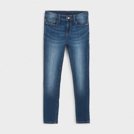 Pantalón tejano chico slim fit color Básico