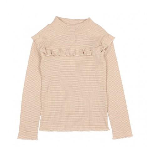 Camiseta niña EILEEN volantes a rayas en NOUGAT