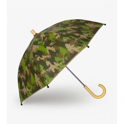 Paraguas niño estampado FOREST verde
