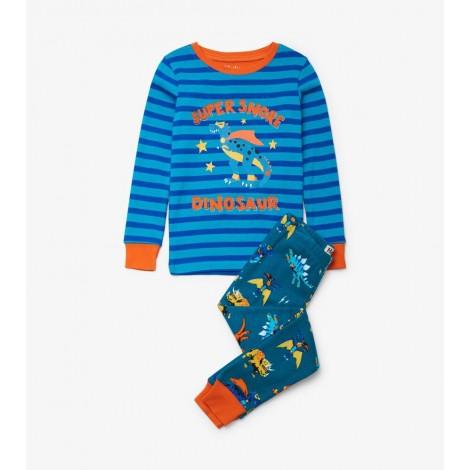 Pijama niño Superhero Dinos en algodón orgánico