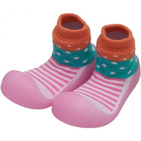 Zapato Chameleon STRIPE DOT gateo y caminar bebé