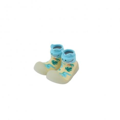Zapato Chameleon DINO SKY gateo y caminar bebé