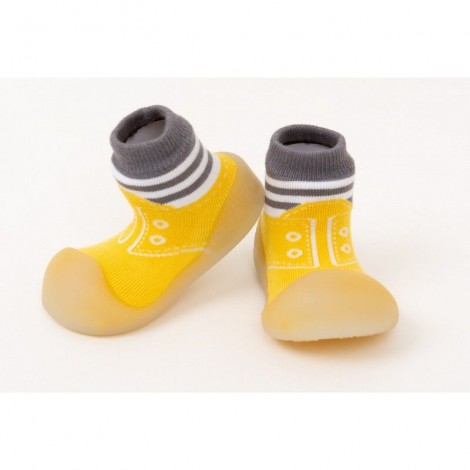 Zapato Chameleon SNEAKERS YELLOW gateo y caminar bebé