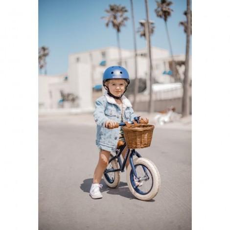 Casco clásico marino mate infantil para bicicleta
