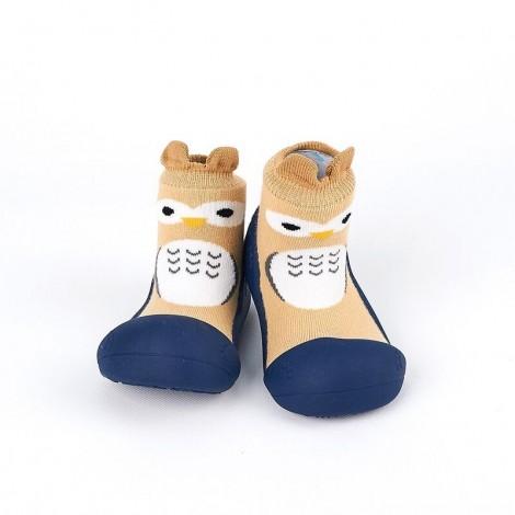 Zapato Chameleon OWL NAVY gateo y caminar bebé