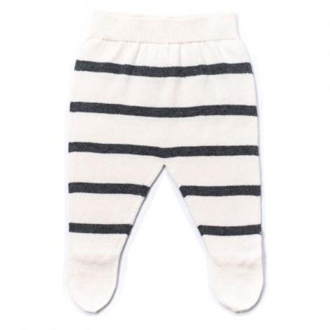 Pantalón bebé polaina LUC rayas DARK GREY