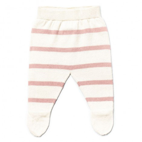 Pantalón bebé polaina LUC rayas PALE ROSE