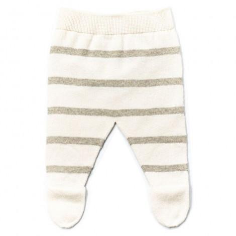 Pantalón bebé polaina LUC rayas STONE