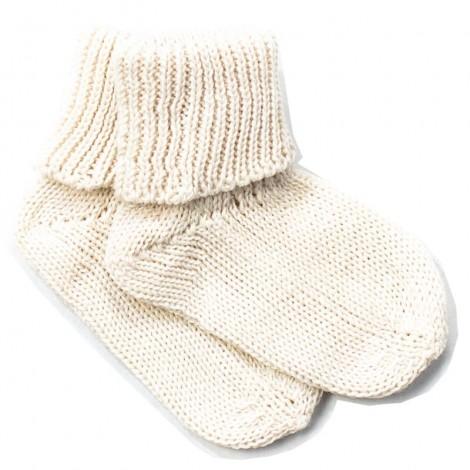 Calcetín bebé JUNO CREAM algodón 100%